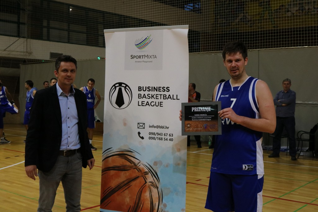 MVP sezone i najbolji strijelac: Ivan Morić (RWE Energija)